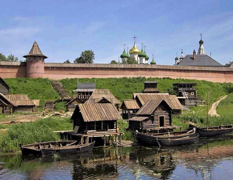 Один из городов Руси