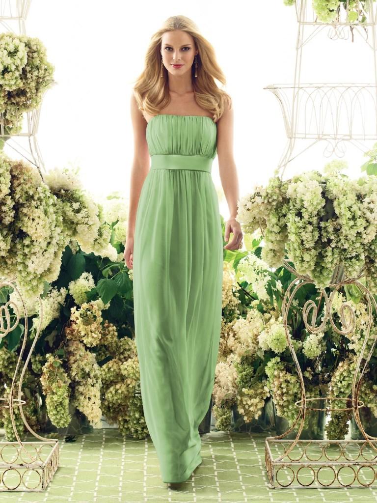 вечерние платья в пол зеленого цвета