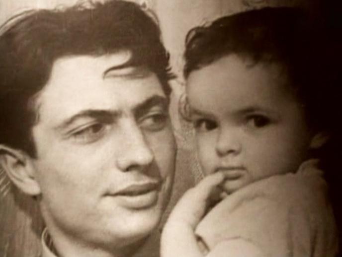 Вадим Бероев с ребенком