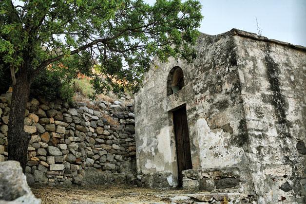 Палеохора в Греции