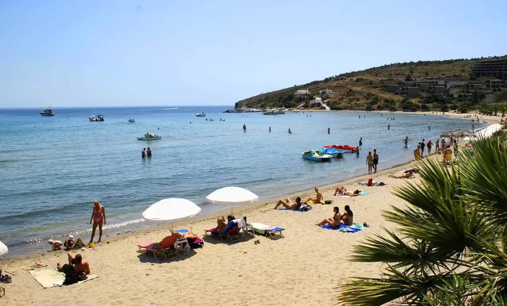 Пляжи Эгины