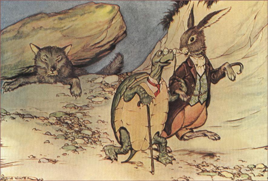 Иллюстрация к сказке Джоэля Харриса