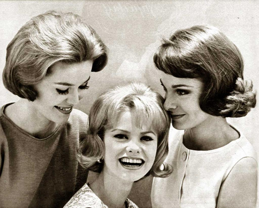 девушки 60-х годов