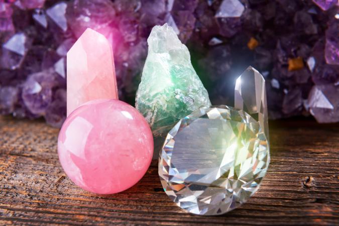 роскошные кристаллы