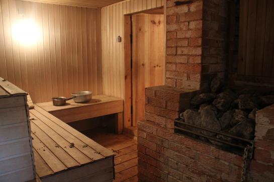 Русская баня в гража