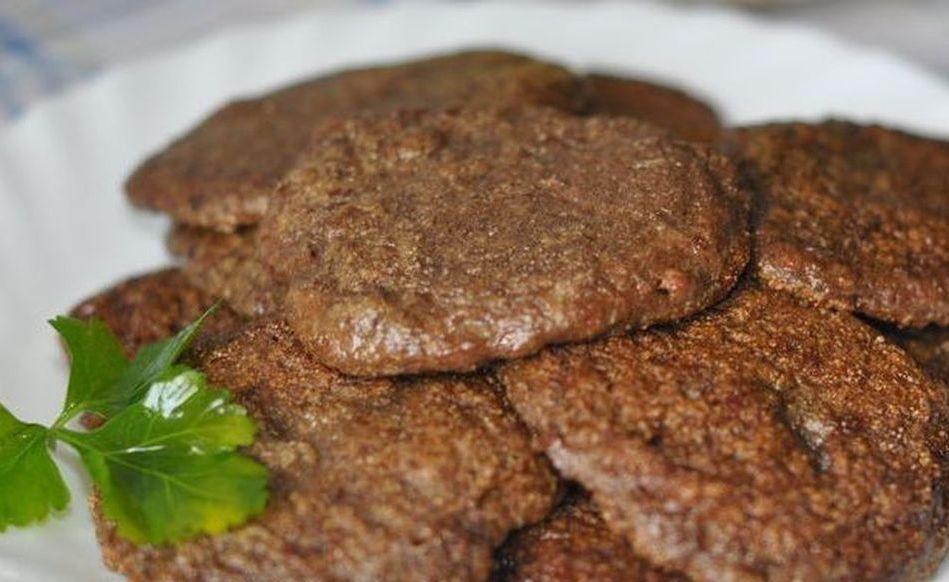 Рецепт печеночных котлет, в духовке изготовленных.