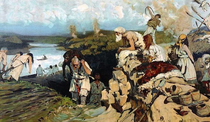 Поселение древних вятичей