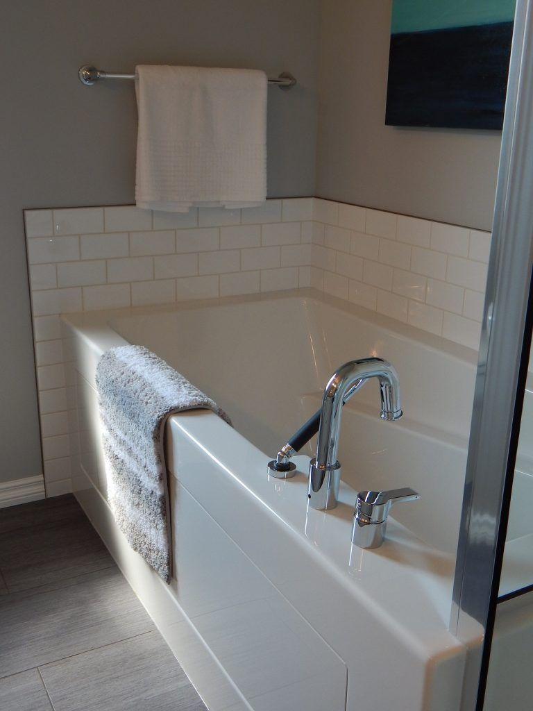 ванна отчищенная содой до идеальной белизны