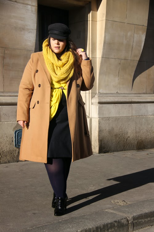 модные луки для полных девушек зима