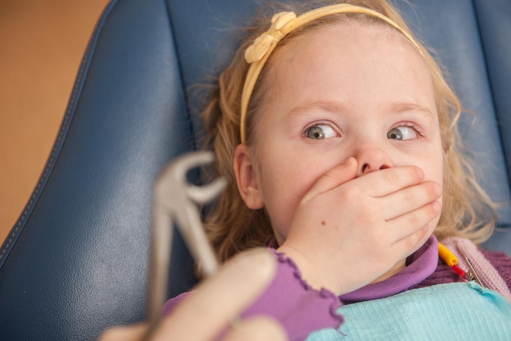 Дети боятся стоматологов