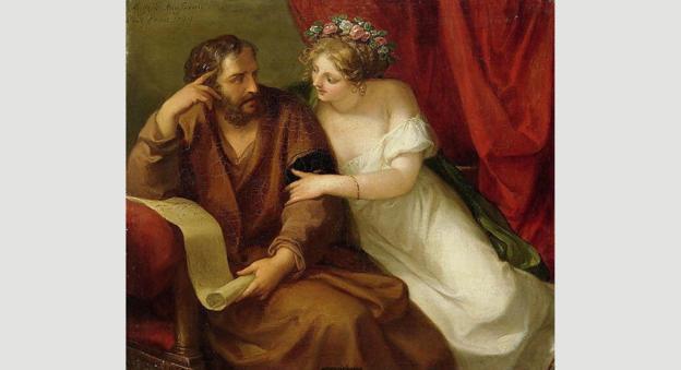 Фрина соблазняет Ксенократа
