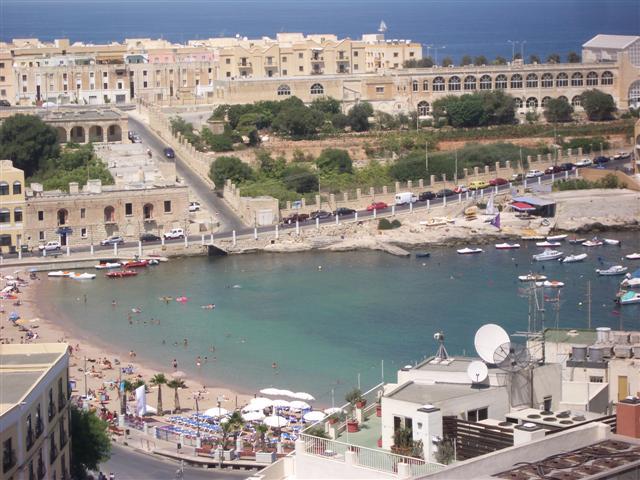Сент-Джулианс Мальта пляжи