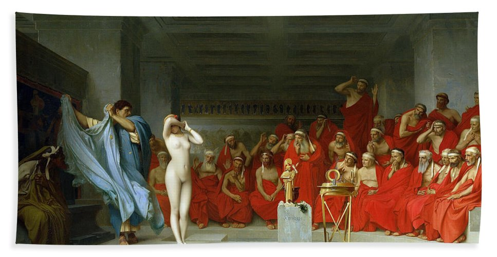 Фрина перед Ареопагом