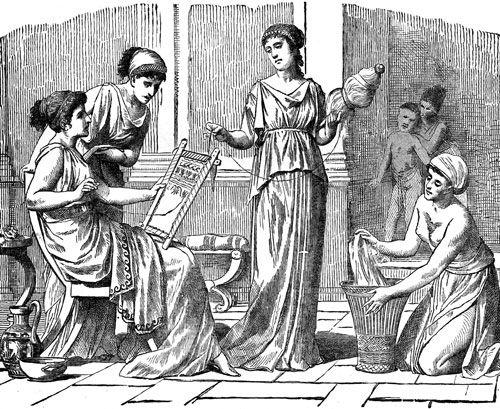 Древние гречанки