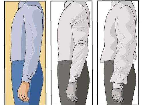 Правильная посадка рукавов