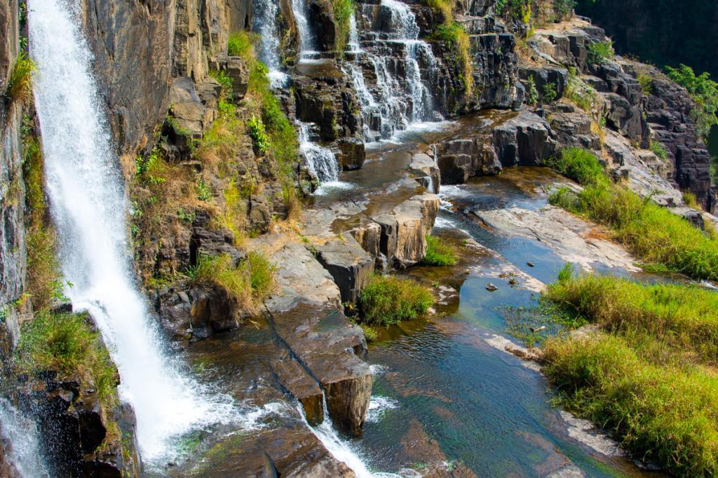 Водопад понгур фото