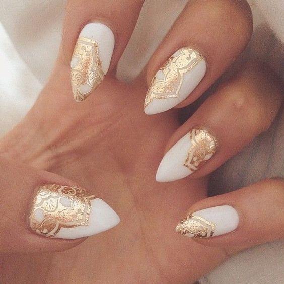 необычные рисунки на ногтях фото