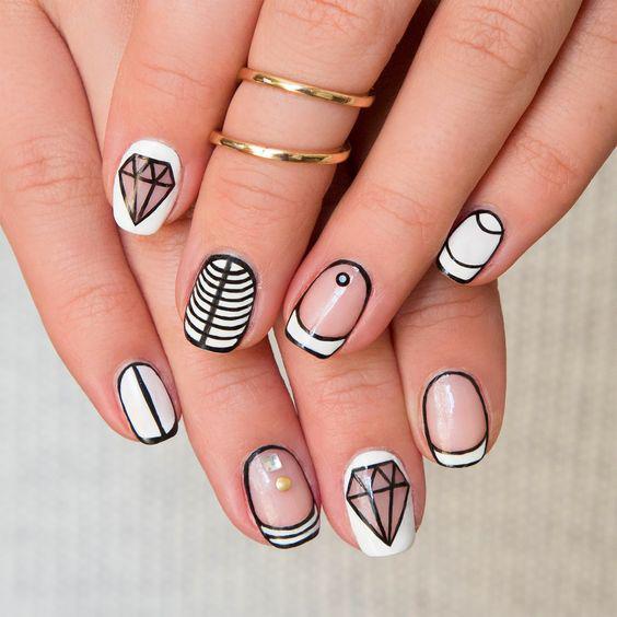 необычные красивые рисунки на ногтях фото