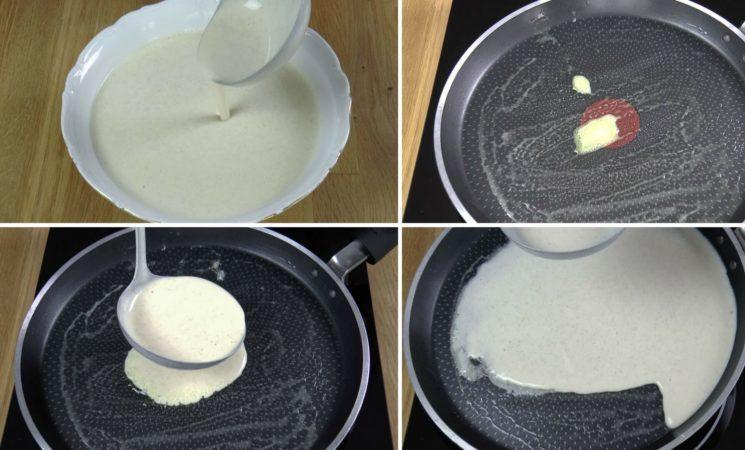 как приготовить тонкие блинчики на молоке в дырочку рецепт
