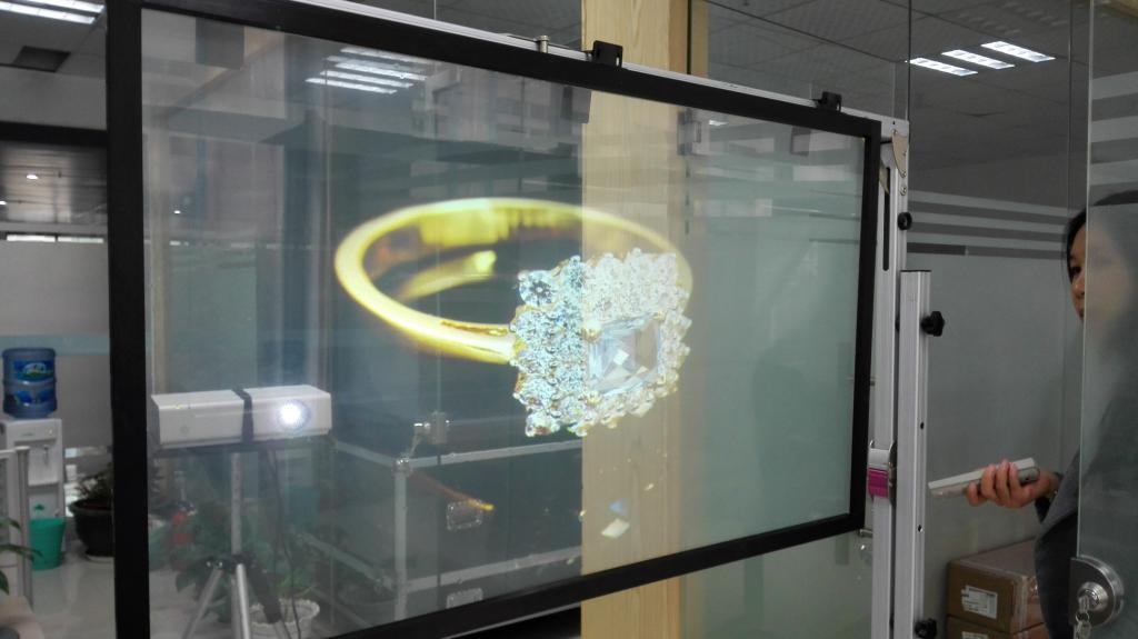 смартфон с голографическим экраном