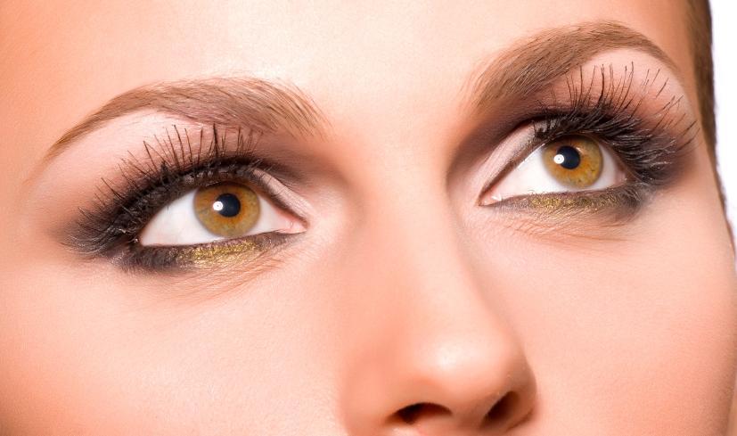 карие ореховые глаза