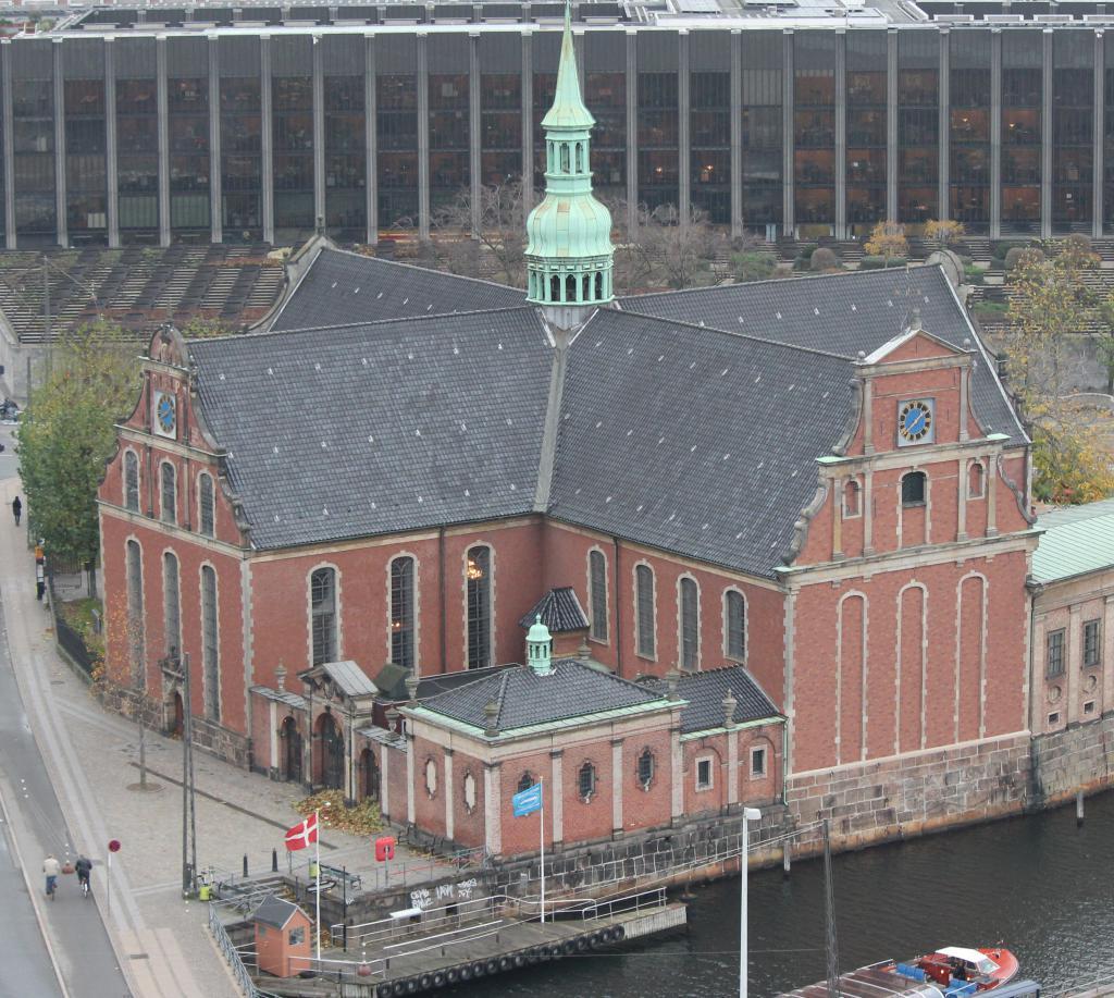 Церковь Хольмен в Копенгаене