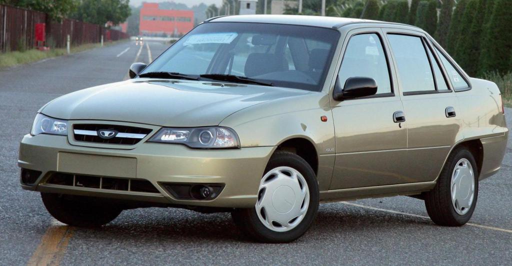 Daewoo Nexia N150 configuration
