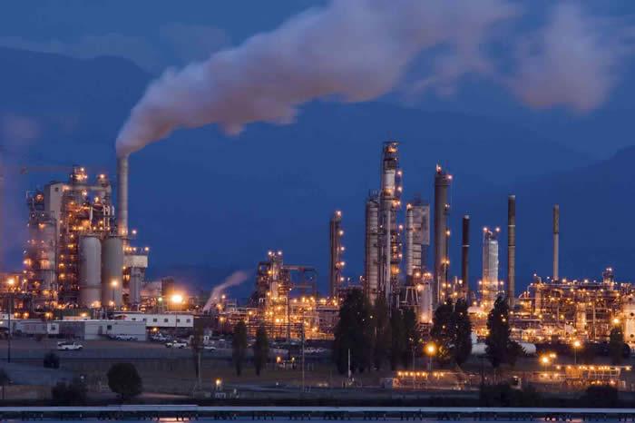 Индустриальная часть города
