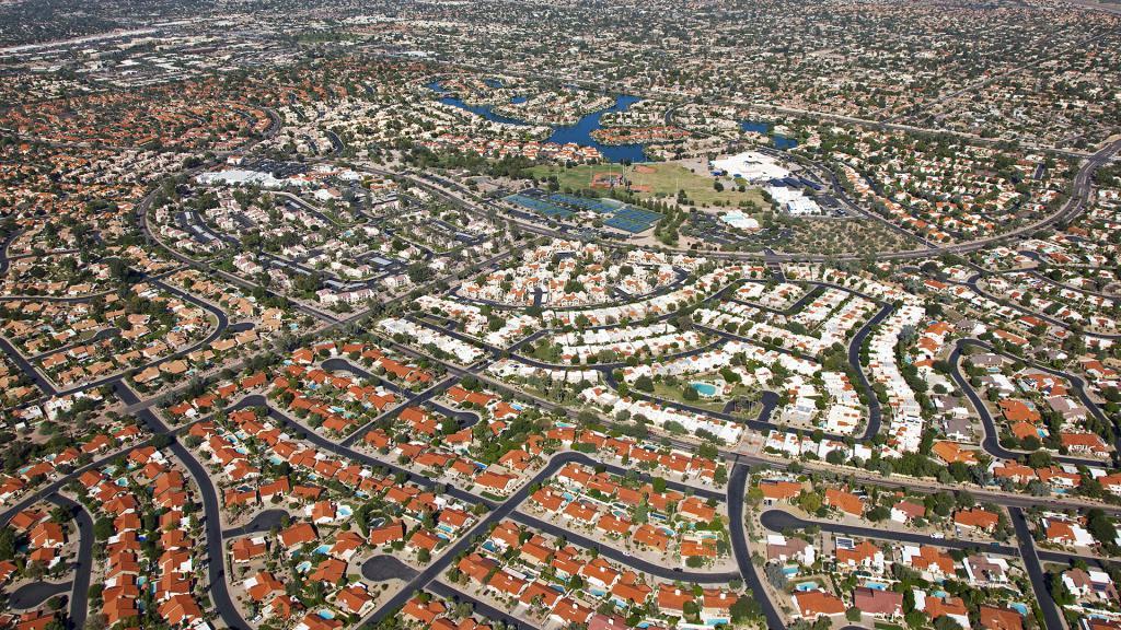 Разрастание городов Европы