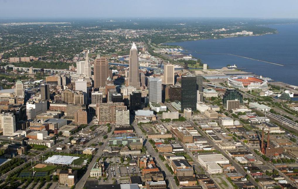 Разрастание городов США