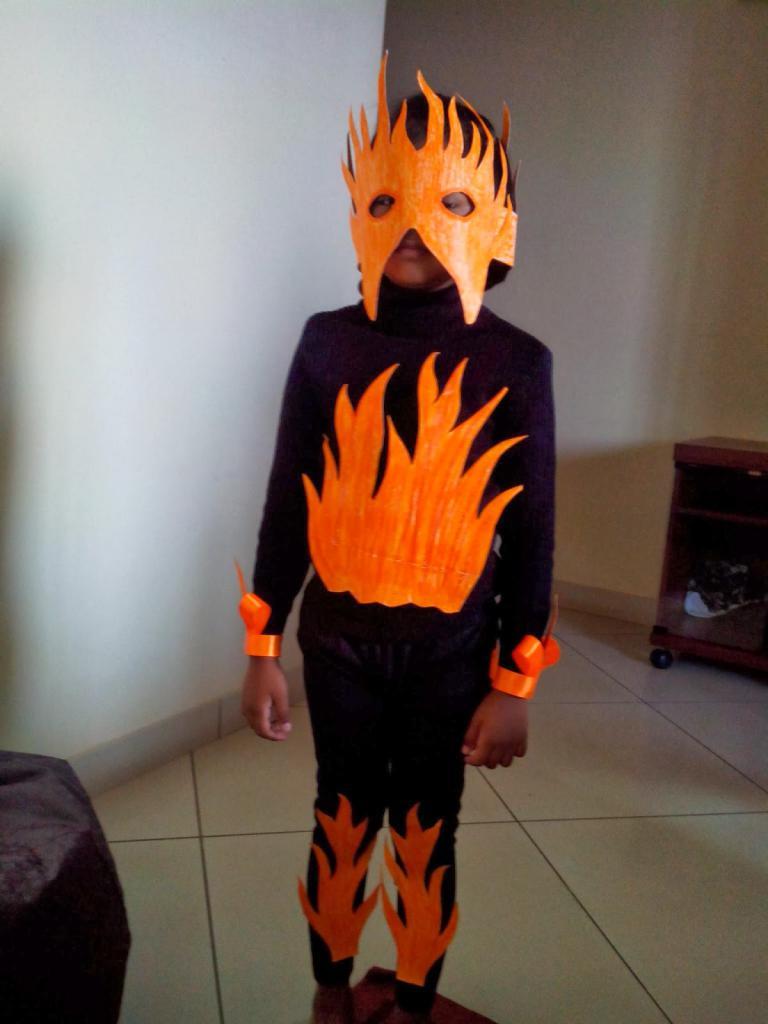 костюм огня для мальчика