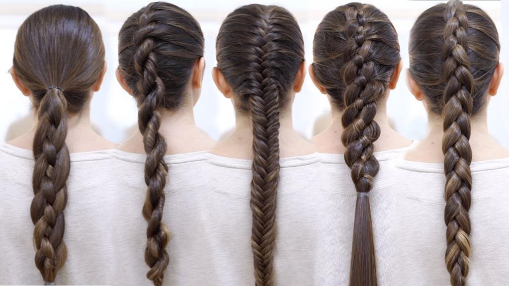 Прически на волосы быстро просто