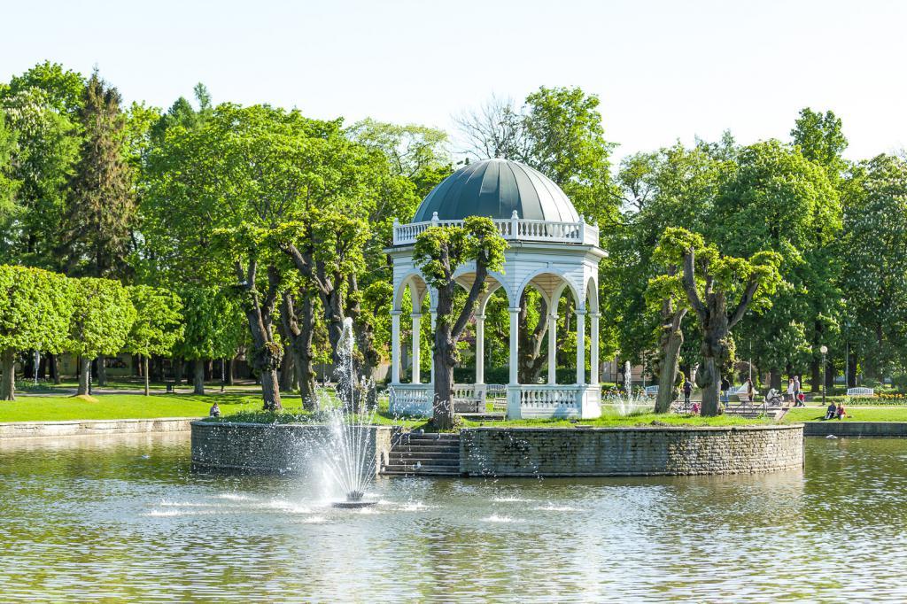 "Парк ""Кадриорг"" Лебединый пруд"