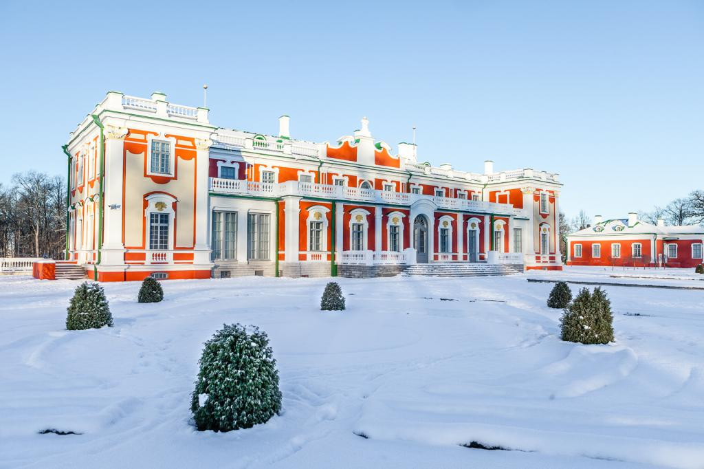 """Парк """"Кадриорг"""" дворец"""