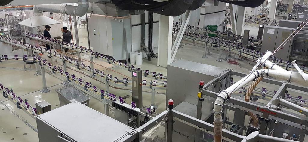 линии по производству сахара