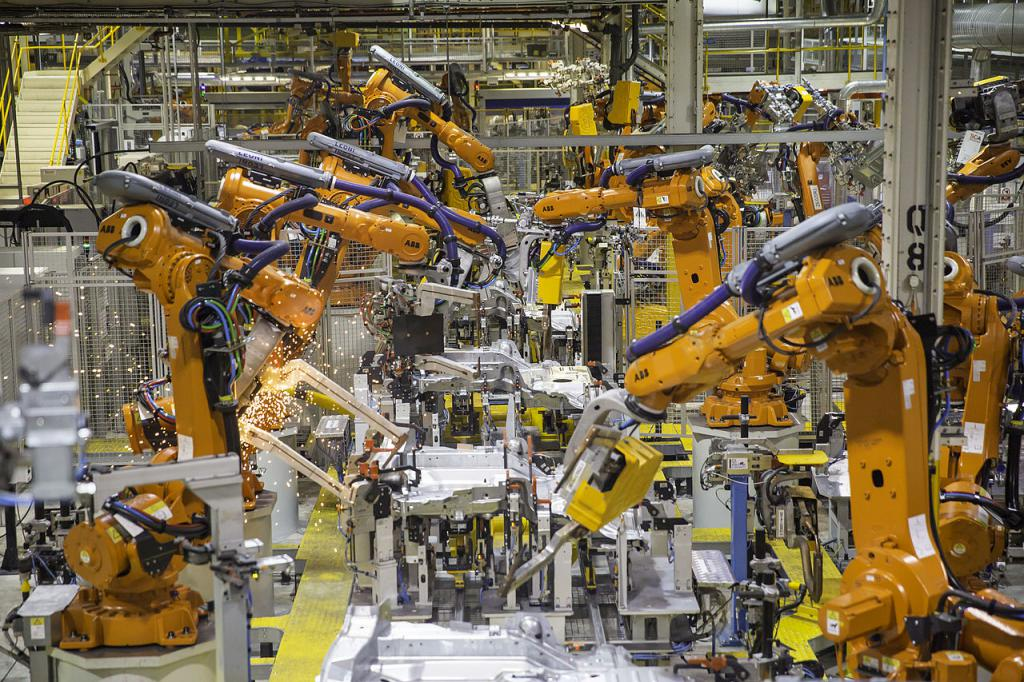 Автоматическое поточное производство