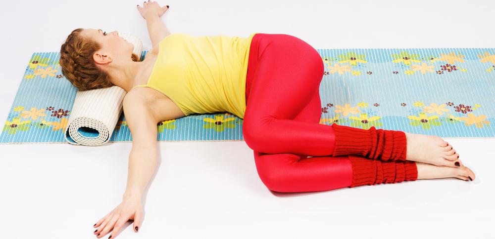 йога для спины снятие боли