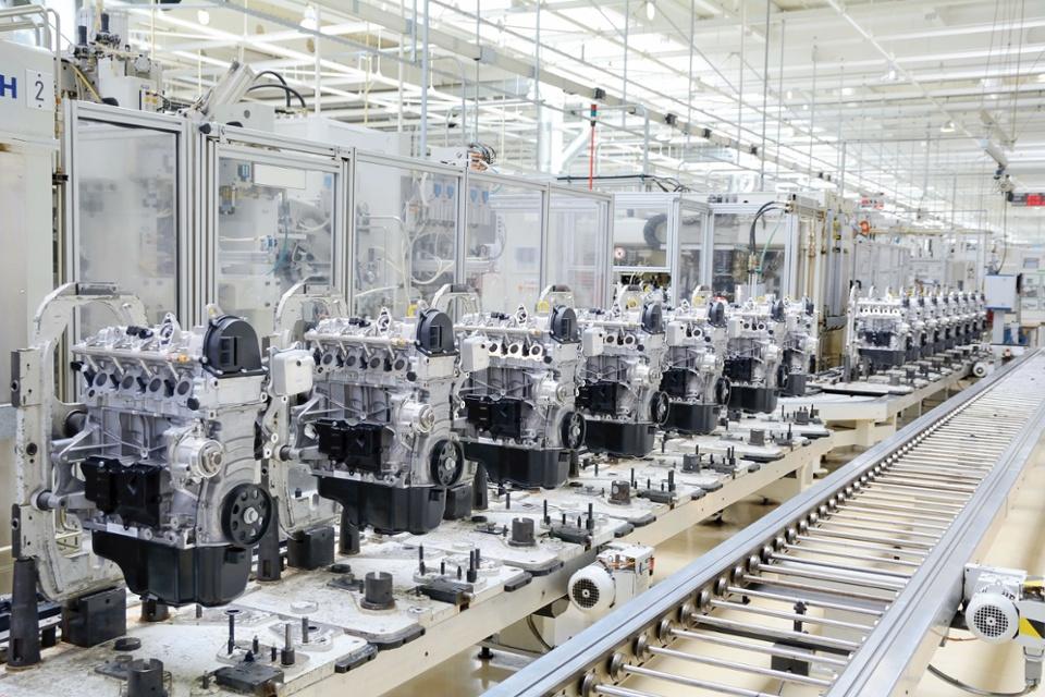 Поточное производство двигатели