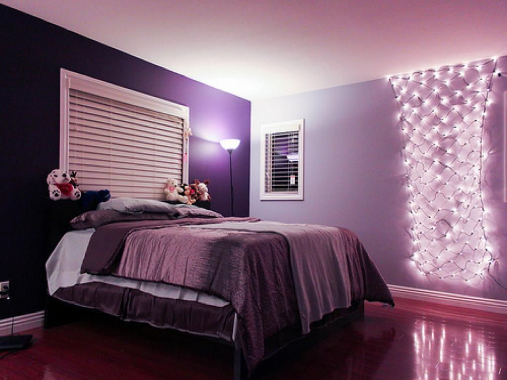 фиолетовая комната фото