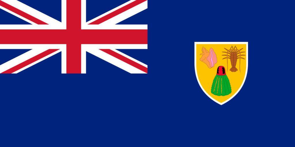 Флаг Теркс и Кайкос