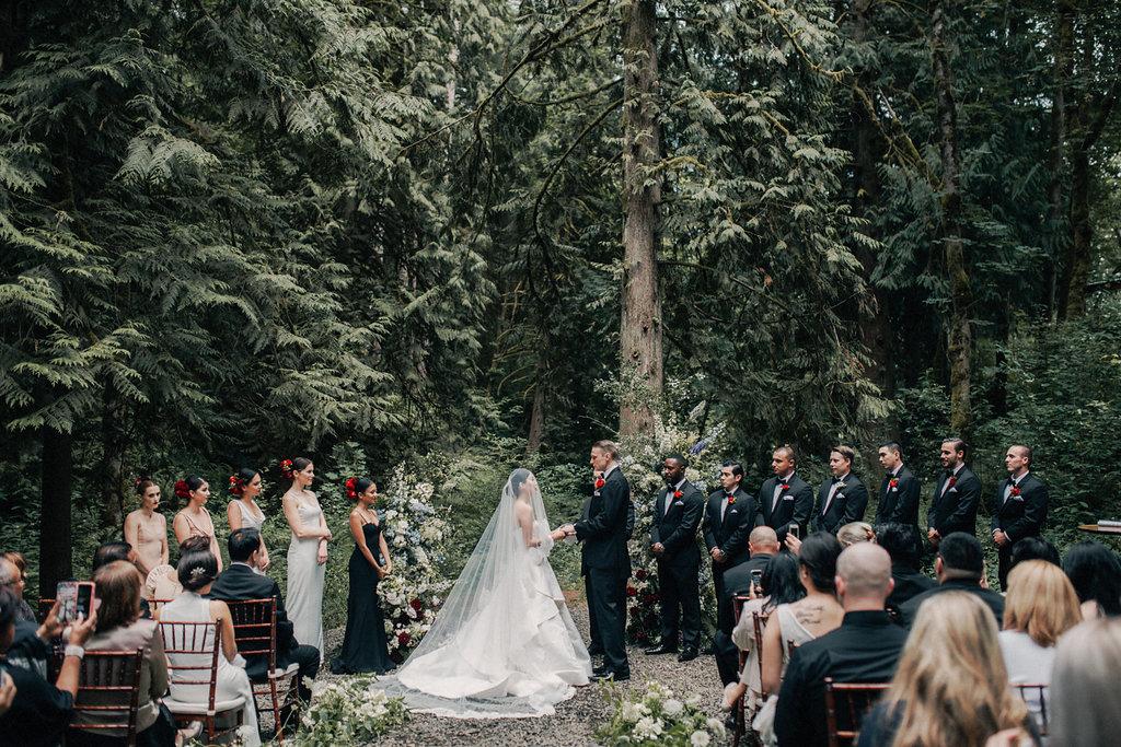 свадьба в лесу идеи свадьбы