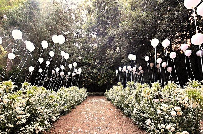 организовать свадьбу в лесу