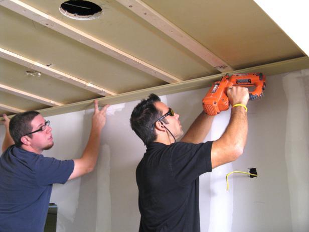 мдф панелей на потолок