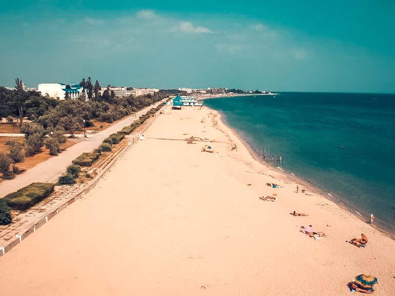 Крым, Евпатория, пляж