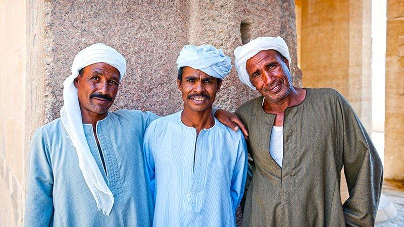 Традиционная мужская одежда в Египте