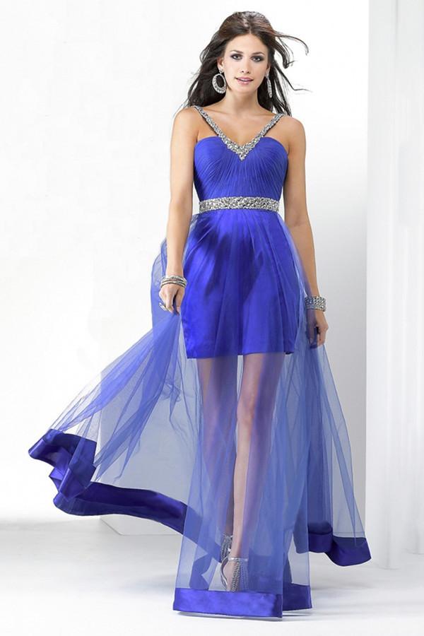 удлинить платье