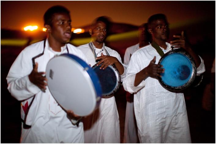 Барабаны на свадьбе