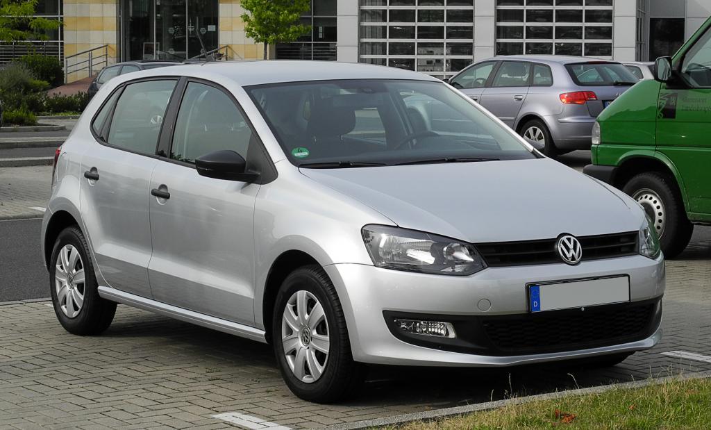 Volkswagen Polo в комплектации Trendline