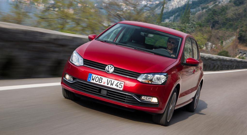 Volkswagen Polo в комплектации Drive