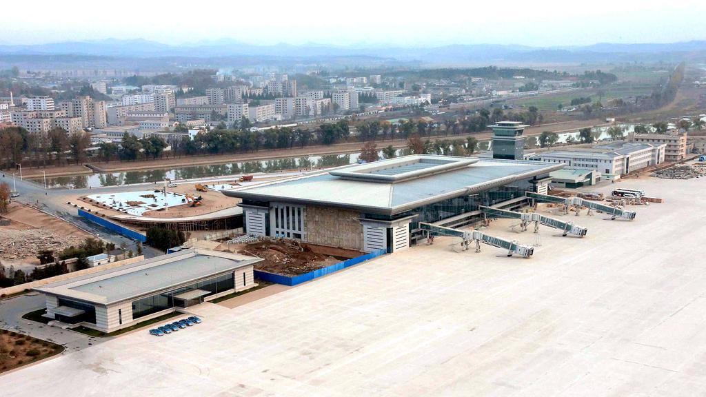Аэровокзал Пхеньяна